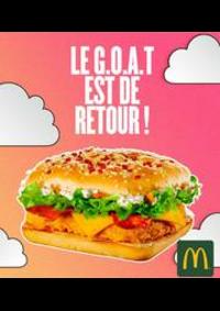 Prospectus McDonald's - LYS LES LANNOY : Menu