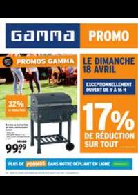 Prospectus GAMMA MENEN : Magazine de jardin