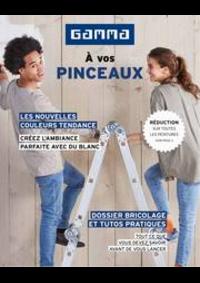 Prospectus GAMMA OUDENAARDE : Magazine de peinture