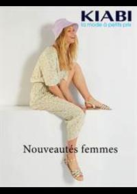 Catalogues et collections Kiabi Quaedypre : Nouveautés femmes