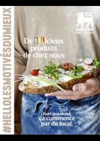 Journaux et magazines Supermarché Delhaize Bouge : Folder Delhaize