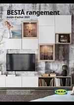 Prospectus IKEA : Guide d'achat 2021 - BESTÅ rangement