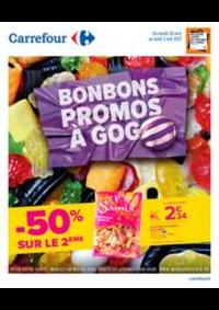 Prospectus Carrefour Drancy : Bonbons & Promos à Gogo