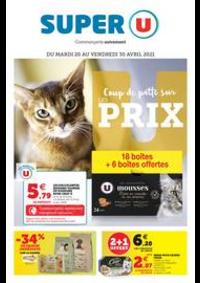 Prospectus Super U MONTREUIL - R. NOUV. FRANCE : LES COUP DE PATTE SUR PRIX