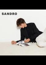 Prospectus Sandro : Nouveautés / Homme