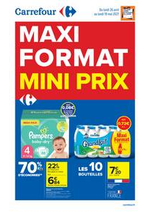 Prospectus Carrefour : MAXI FORMAT, MINI PRIX