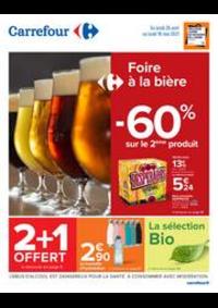 Prospectus Carrefour CHARENTON LE PONT : Foire à la bière