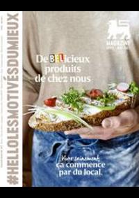 Prospectus AD Delhaize Oostende : Folder Delhaize