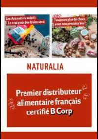 Prospectus Naturalia PARIS 11 rue Bayen : Toujours plus de choix avec nos produits bio !