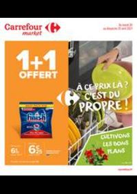 Prospectus Carrefour Market MASSY : À ce prix là ? C'est du propre !