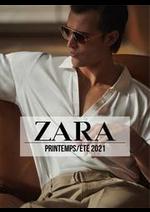 Promos et remises  : ZARA HOMME Campaign PrintempsÉté  2021