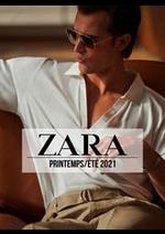 Catalogues et collections ZARA : ZARA HOMME Campaign PrintempsÉté  2021