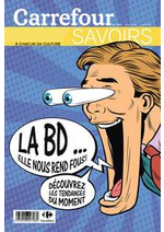 Prospectus Carrefour : La BD... Elle nous rend fous