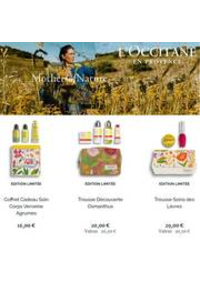 Prospectus L'Occitane Bruxelles Toison d'Or : Mothers of Nature
