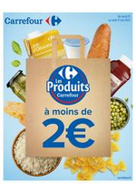 Prospectus Carrefour : Les Produits Carrefour à moins de 2€