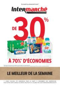 Prospectus Intermarché Super Lugrin : LE MEILLEUR DE LA SEMAINE MAI 1 V2