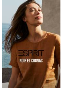 Prospectus Esprit Colmar : Noir et cognac