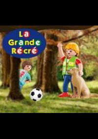 Prospectus La grande Récré PARIS 120 rue d'Alésia : 1 Spécial plus offert dès 30€ d'achat playmobil