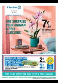 Prospectus E.Leclerc VITRY SUR SEINE : UNE SURPRISE POUR MAMAN À PRIX E.LECLERC