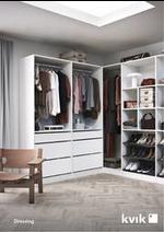 Prospectus Kvik : 2021 Catalogue Wardrobe