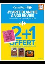 Prospectus Carrefour : #Carte blanche a vos envies