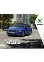 Prospectus Skoda : Catalogue SCALA