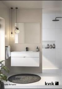 Prospectus Kvik AUDERGHEM : Salle de bains