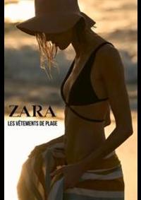 Prospectus ZARA ANDERLECHT Westland Shopping Center : Les vêtements de Plage