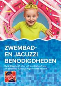 Prospectus EURO SHOP Tournai : Zwembad- en jacuzzi benodigdheden