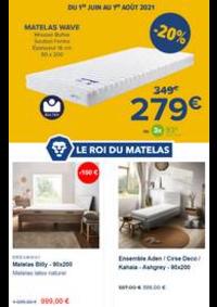 Prospectus Le Roi du Matelas ANDERLECHT : Le Grand Destockage