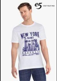 Prospectus e5 CHAMPION : Statement T-shirts
