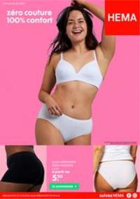 Prospectus Hema SINT-PIETERS-LEEUW : Zero Couture 100% Confort