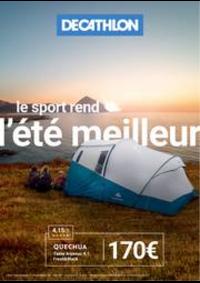 Prospectus DECATHLON Doubs : Le sport rend l'été meilleur