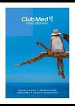 Prospectus club med voyage : Club Med Nouvelle Brochure