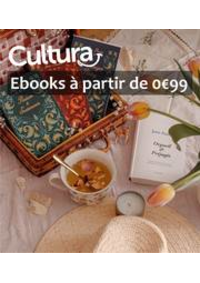 Prospectus Cultura GENNEVILLIERS : Ebooks à partir de 0€99