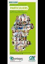 Prospectus Crédit Agricole : CATP Tarifs 2021 Particuliers