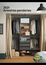 Prospectus IKEA : Armoires Penderies 2021