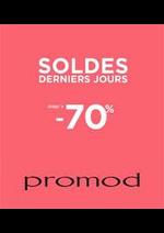 Prospectus Promod : Soldes
