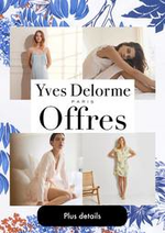 Prospectus Yves Delorme : Offres Yves Delorme