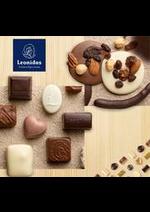 Prospectus Leonidas : Les chocolats