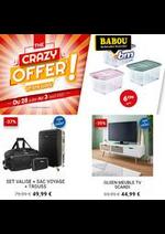 Prospectus Babou : crazy offer