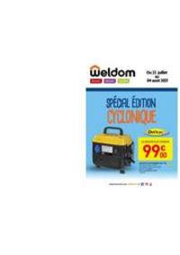 Prospectus Weldom VALDAHON : Le catalogue