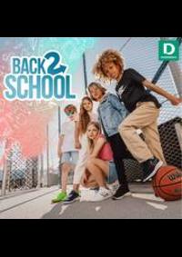 Prospectus Dosenbach Basel - Güterstrasse  : Back to school