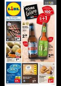 Prospectus Lidl VALDAHON : Catalogue de la semaine