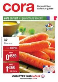 Prospectus Cora MONTBÉLIARD : Catalogue Cora