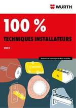 Promos et remises  : Würth 100% techniques installateurs 2021
