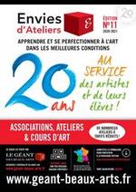 Prospectus Le Géant des Beaux-Arts : 20 Ans au service des artistes