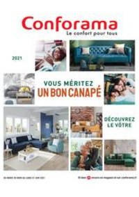 Prospectus Conforama CREIL - ST MAXIMIN : Guide Sièges 2021