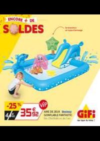 Prospectus Gifi GOUSSAINVILLE : Soldes - Les indispensables de l'été!
