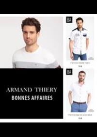 Prospectus Armand Thiery VALENCIENNES : Bonnes Affaires! Homme
